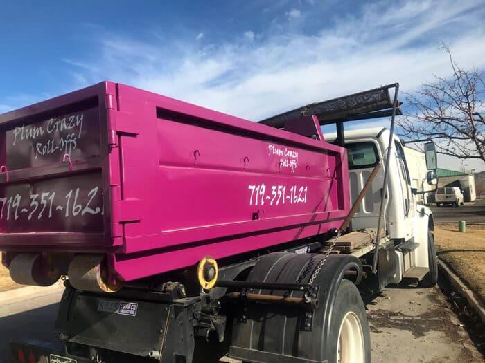 4 Yard Capacity Dumpster